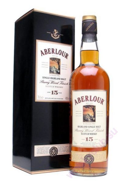Aberlour Sherry Wood Finish 15 Year Old