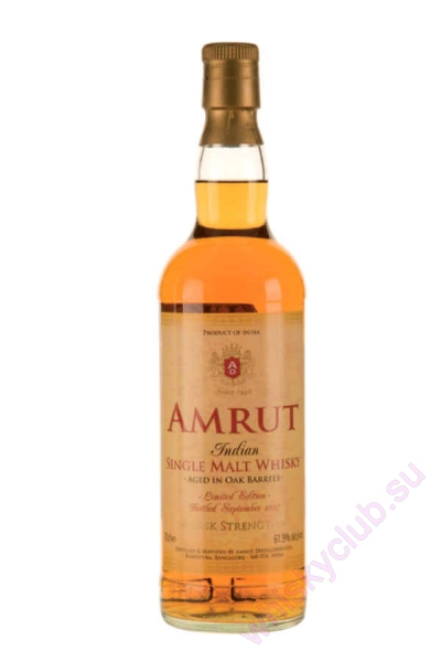 Amrut Indian Single Malt Cask Strength