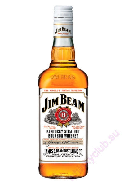 Jim Beam White Label 4 Year Old