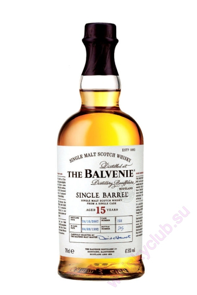 The Balvenie Single Barrel 15 Year Old