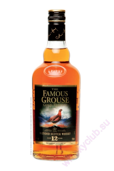The Famous Grouse Gold Reserve 12 Year Old