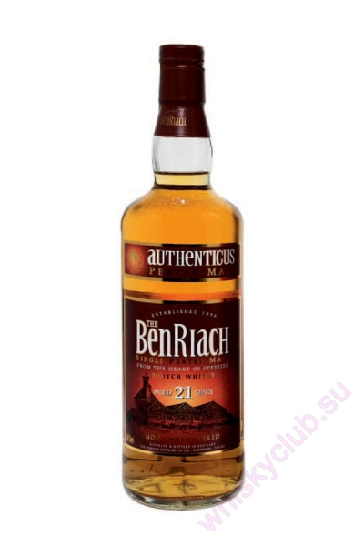 The BenRiach Authenticus 21 Year Old