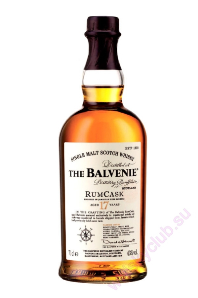 The Balvenie Rum Cask 17 Year Old