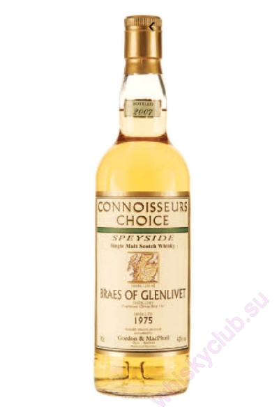 Braes of Glenlivet Gordon & MacPhail 1975