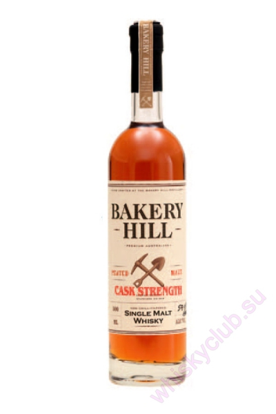 Bakery Hill Cask Strength Peated Malt