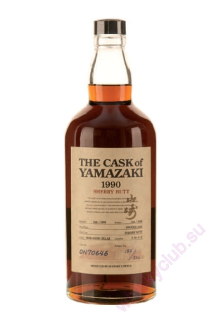 The Cask Of Yamazaki 1990 Sherry Butt