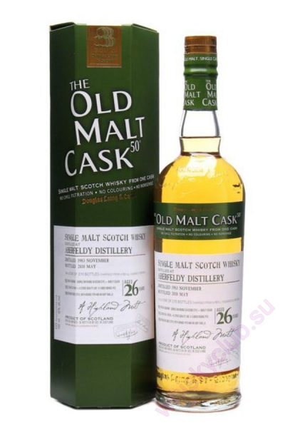 Aberfeldy 1983 Old Malt Cask 26 Year Old
