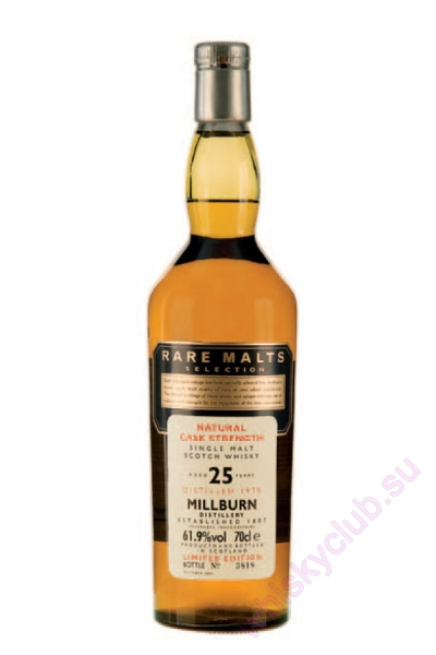 Millburn Rare Malts 25 Year Old