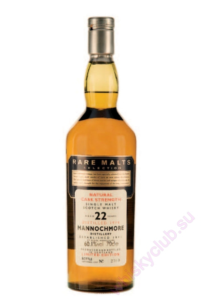 Mannochmore's Rare Malts 22 Year Old