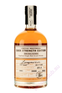 Longmorn Old Cask Strength 17 Year Old 1991